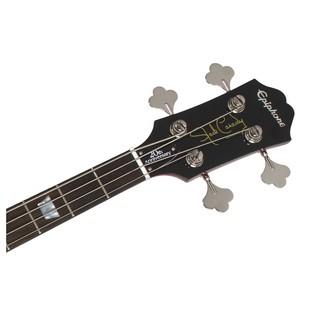 Epiphone Jack Casady Bass headstock