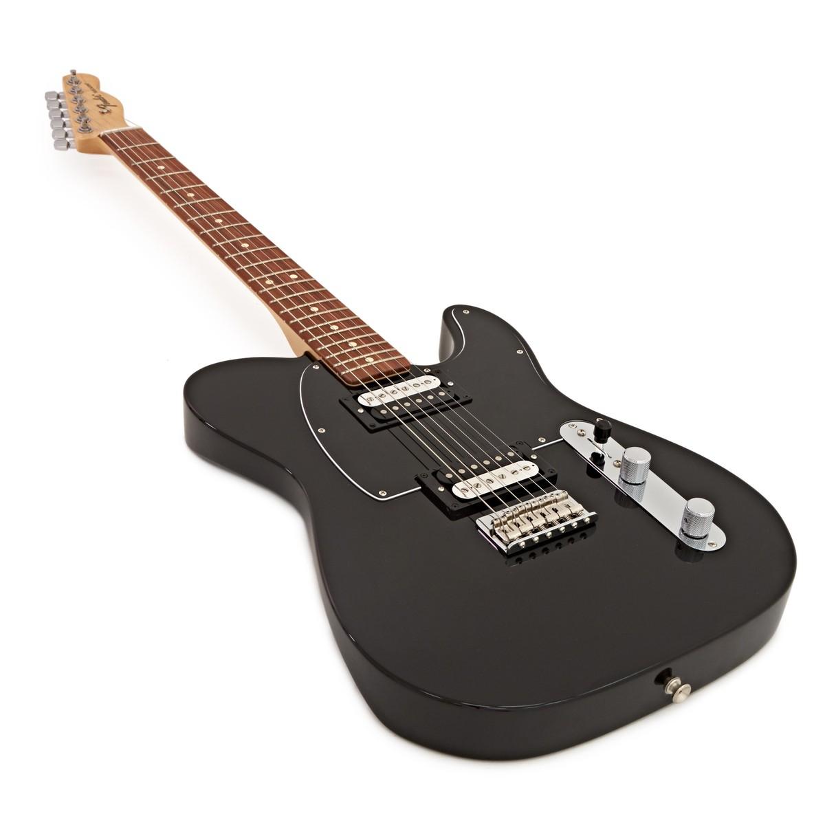 fender standard telecaster hh pau ferro black at. Black Bedroom Furniture Sets. Home Design Ideas