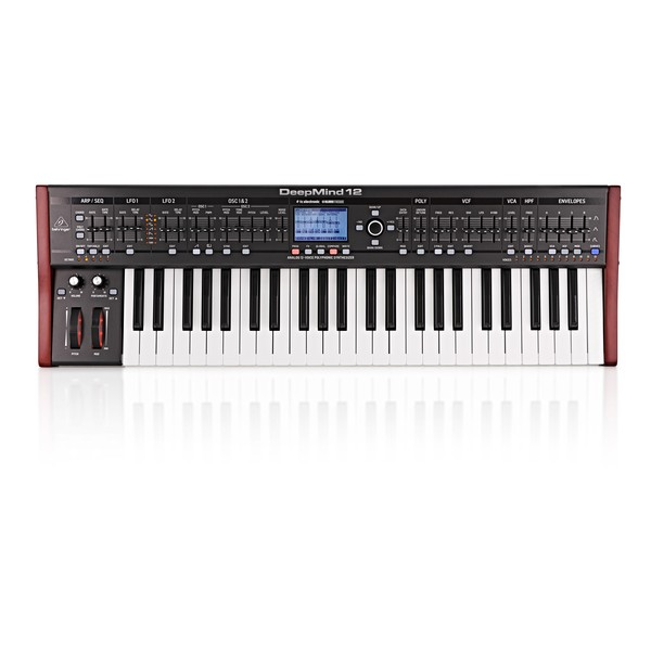 Behringer DeepMind 12 Synthesizer - Top