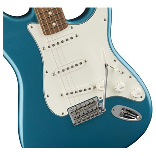 Fender Standard Stratocaster Electric Guitar, PF, Lake Placid Blue