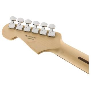 Fender Standard Stratocaster HSS Electric Guitar, PW, Brown Sunburst headstock