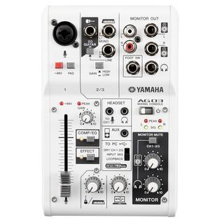 Yamaha AG03 Mixer Top