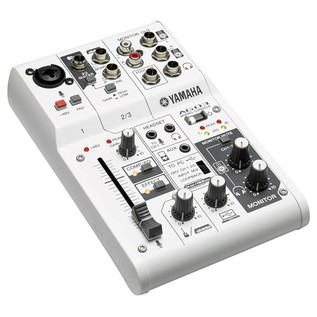 Yamaha AG03 3-Channel Hybrid Analog Mixer