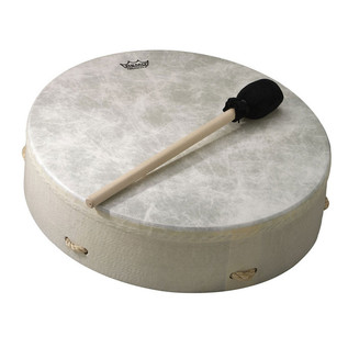 Remo Standard Buffalo Drum 3.5 Inch x 14 Inch, White
