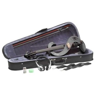 Stagg Full Size Electric Violin, Black