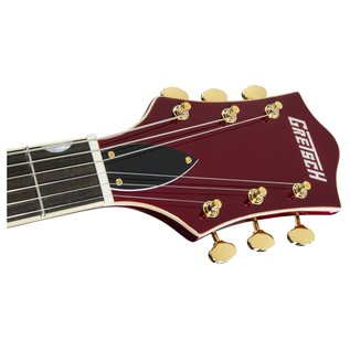 Gretsch Limited Edition Electromatic Hollow Body, Candy Apple Red headstock