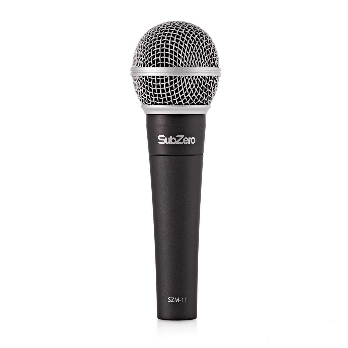 subzero szm 11 dynamic vocal microphone b stock at gear4music. Black Bedroom Furniture Sets. Home Design Ideas
