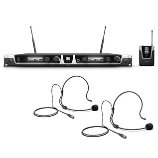 LD Systems BPH2 Wireless System With 2 x Bodypack and 2 x Headset