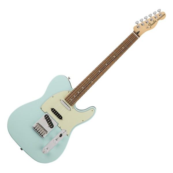 Fender Deluxe Nashville Telecaster Electric Guitar, PF, Daphne Blue