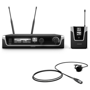 LD Systems 506 BPL Wireless System With Bodypack and Lavalier Mic
