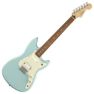 Fender Duo-Sonic HS Electric Guitar, Pau Ferro, Daphne Blue