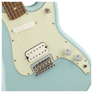 Fender Duo-Sonic HS Guitar, Pau Ferro, Daphne Blue