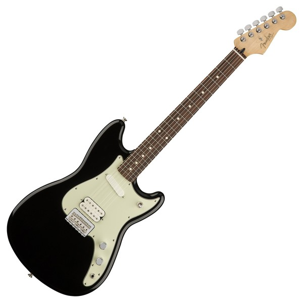 Fender Duo Sonic HS Electric Guitar, Pau Ferro, Black