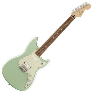 Fender Duo-Sonic HS Electric Guitar, Pau Ferro, Surf Green