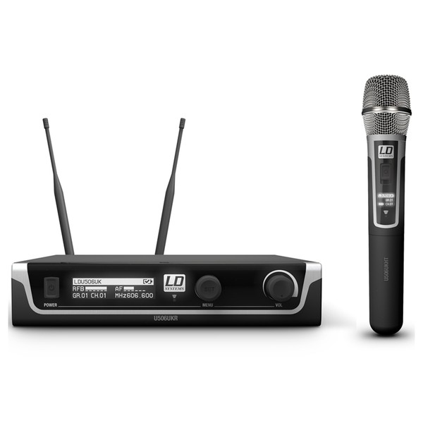 LD Systems U506 HHC Wireless System With Condenser Microphone