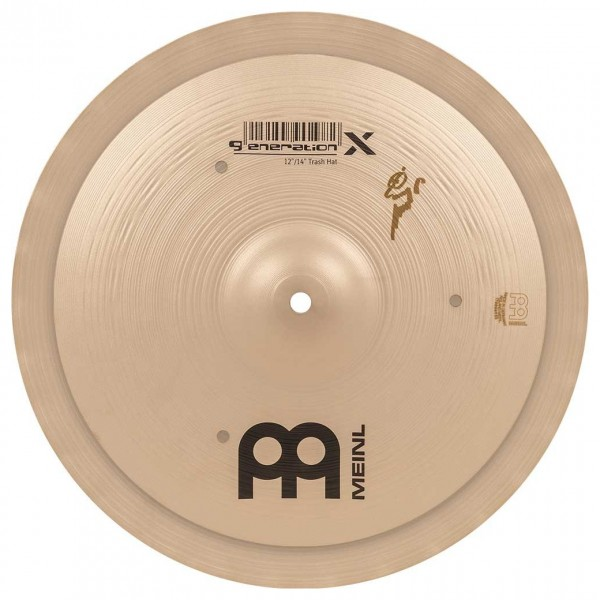 Meinl Generation X 12'' and 14'' Trash Hat Cymbals