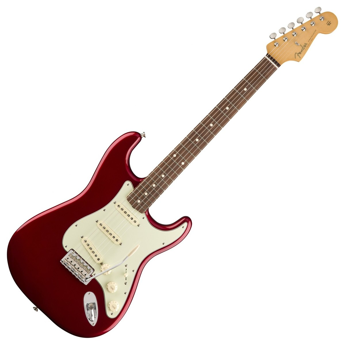 fender classic series 60s stratocaster pw candy apple red at gear4music. Black Bedroom Furniture Sets. Home Design Ideas