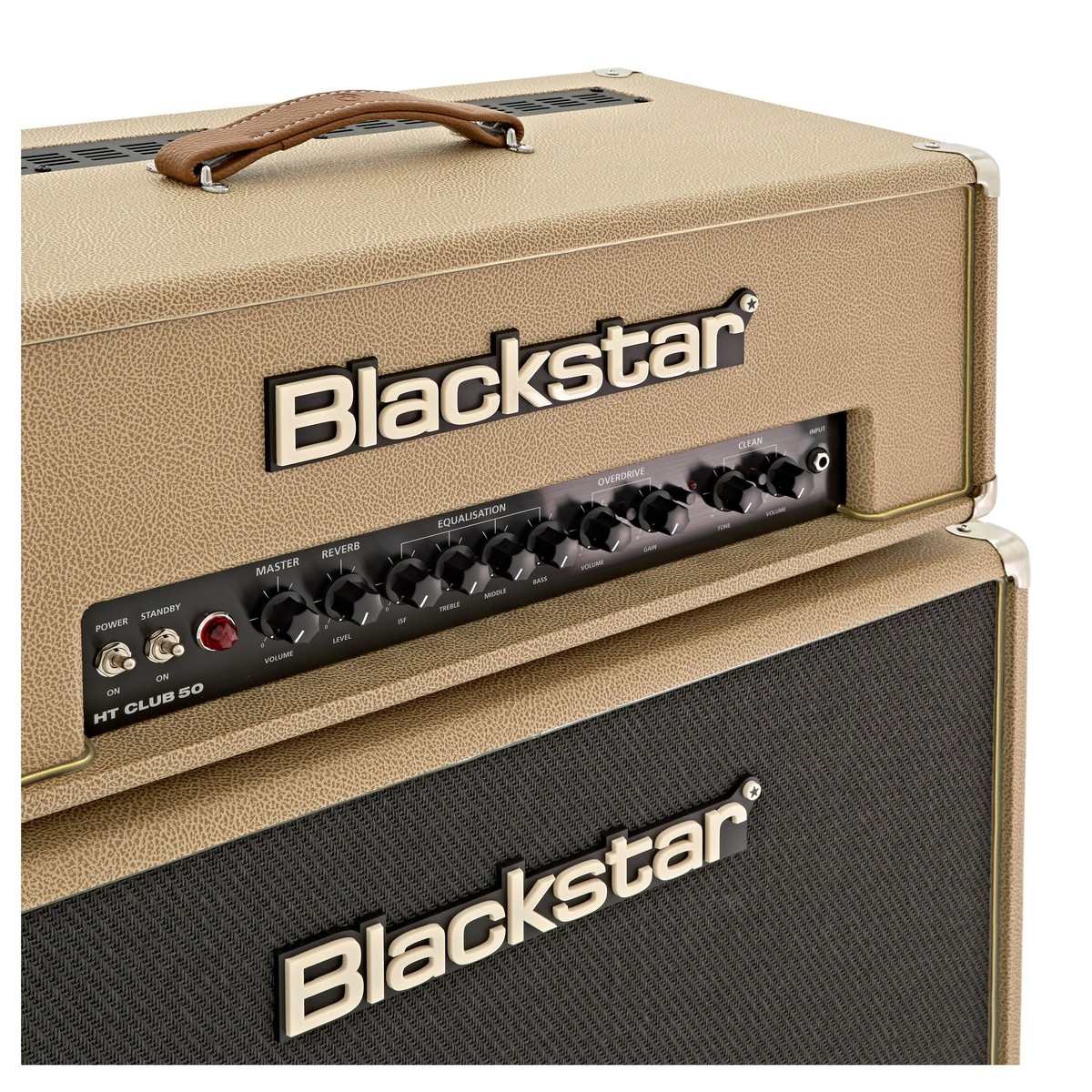 BlackStar HT Club 50H & HTV-212 Cabinet Pack, Bronco Tan at ...