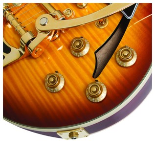 Epiphone Ltd Ed Johnny A. Signature Outfit Sunset Glow Controls