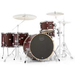 Mapex Mars 22'' Crossover Retro Fusion 5 Piece Shell Pack, Bloodwood