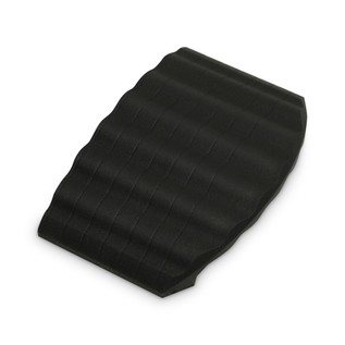 Defender End Ramp for Defender Office Cable Duct, Black