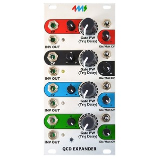 4ms Quad Clock Distributor - Expander - Front