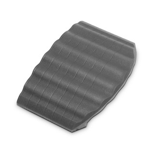 Defender End Ramp for Defender Office Cable Duct, Grey