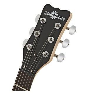 New Jersey II Electric Guitar by Gear4music, Black