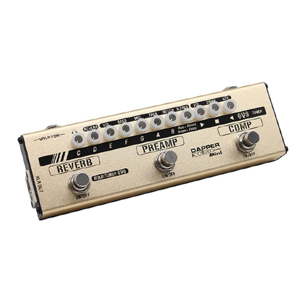 Valeton Acoustic Mini Dapper Mini Effects Strip