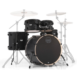 Mapex Mars 22'' Rock 5 Piece Shell Pack, Nightwood