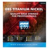 EBS Northern Light LC Titanium Nickel Bass Strings, Heavy