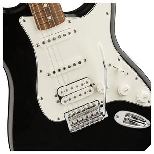 Fender Standard Stratocaster HSS Electric Guitar, Pau Ferro, Black