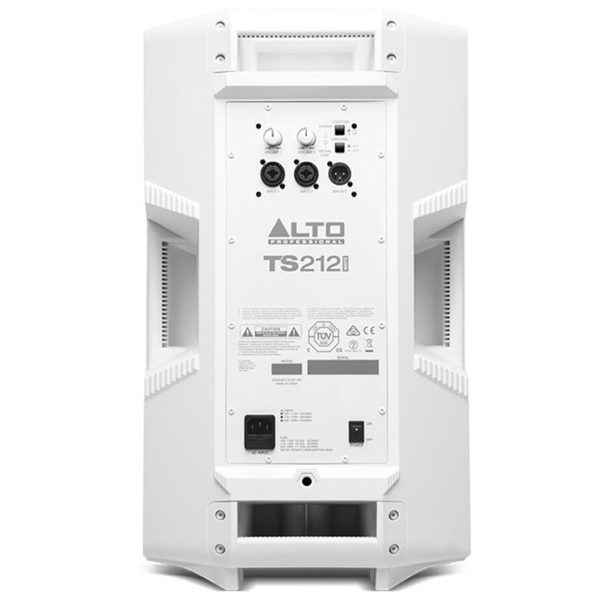 Alto Truesonic Ts212 12 Active Pa Speaker White B Stock At How Does A Circuit Breaker Work1 Rear
