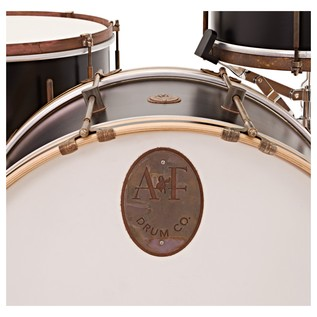 A&F Drum Co. 3pc Black Club Maple Shell Pack