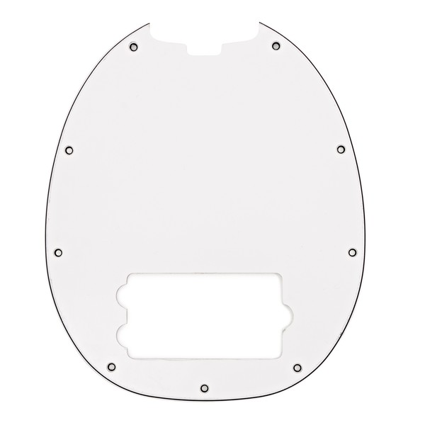 Music Man StingRay 4 Pickguard, White