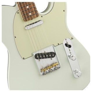 Fender Classic Player Baja 60s Telecaster, PW, Faded Sonic Blue Controls