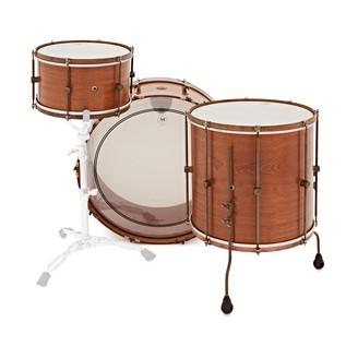 A&F Drum Co. 3pc Mahogany Club Shell Pack