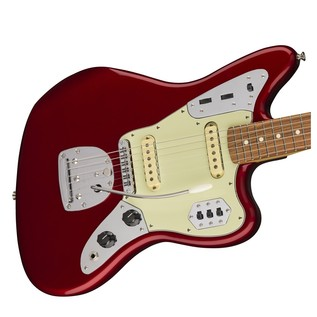 Fender Jaguar Classic Player Guitar, Pau Ferro, Candy Apple Red