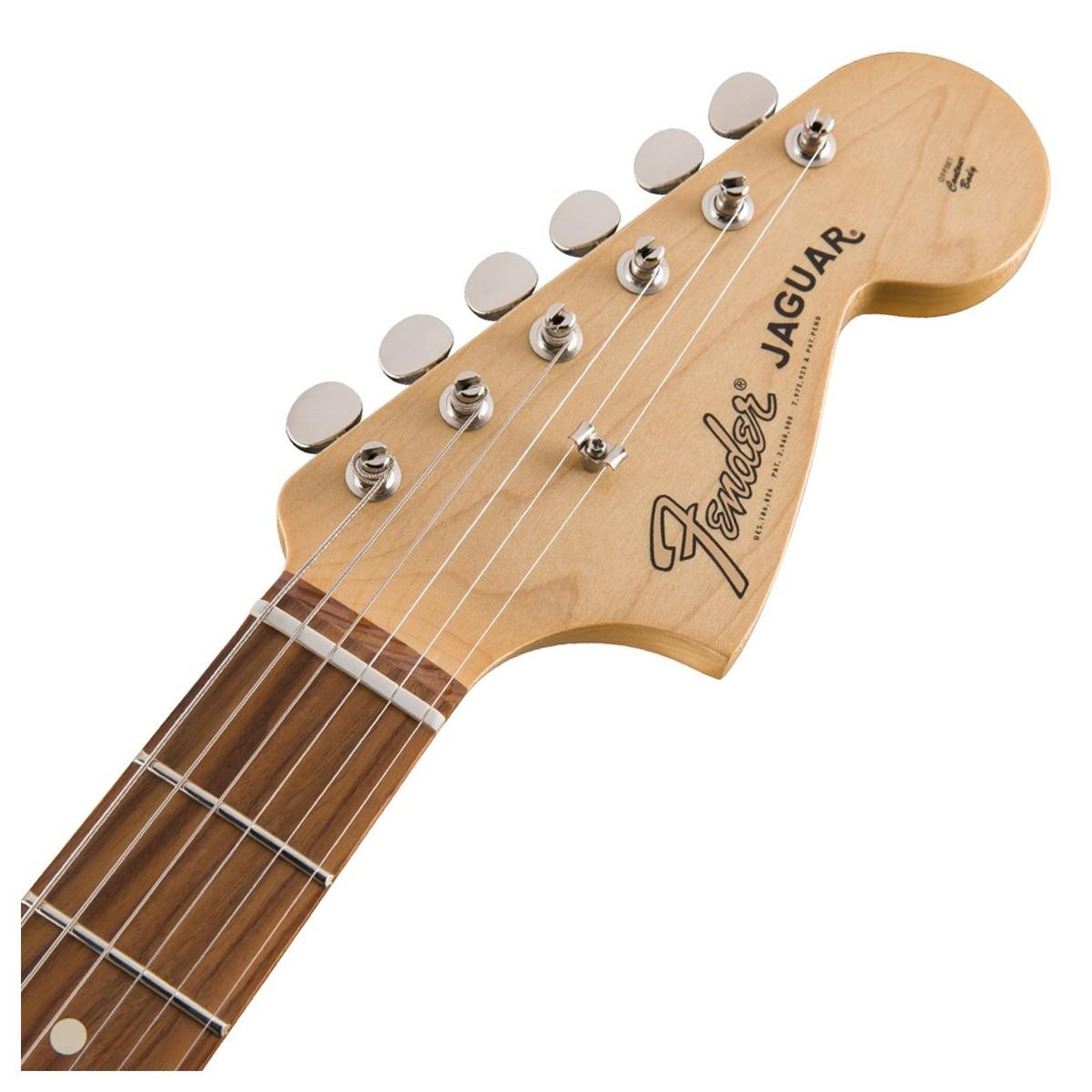 fender jaguar classic player guitar pau ferro candy apple red at gear4music. Black Bedroom Furniture Sets. Home Design Ideas