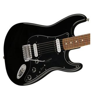 Fender Standard Stratocaster HH, Pau Ferro, Black Body