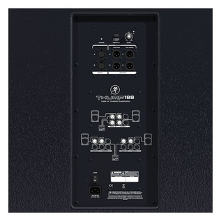 Mackie Thump 18S Active Subwoofer, Rear