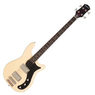Epiphone Embassy PRO Bass Guitar, Antique Ivory