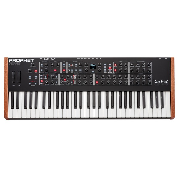 Dave Smith Instruments Prophet Rev2 16 Voice Analog Poly Synth - Top