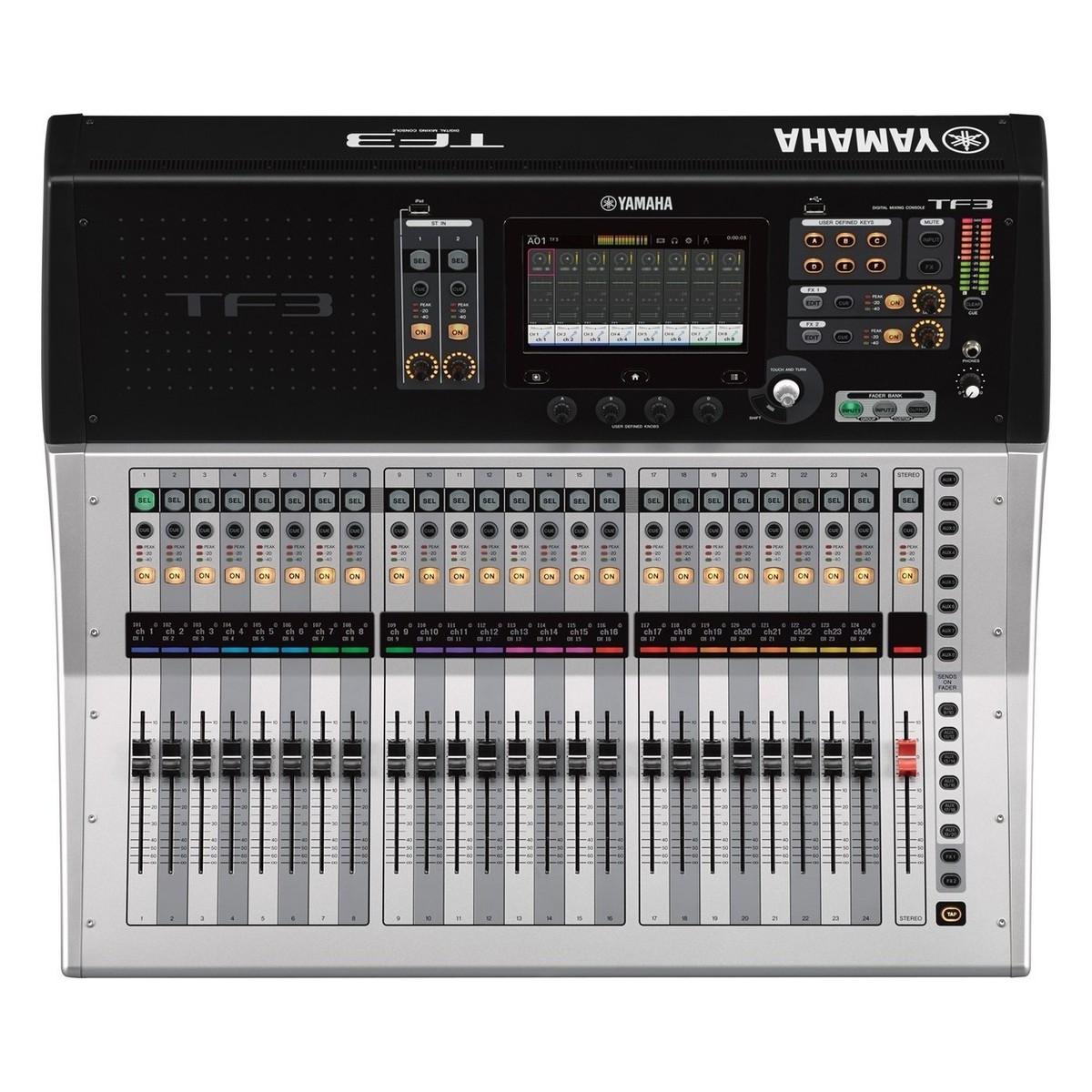 Yamaha touchflow tf3 24 canales mesa de mezclas digital for Media markt mesa de mezclas