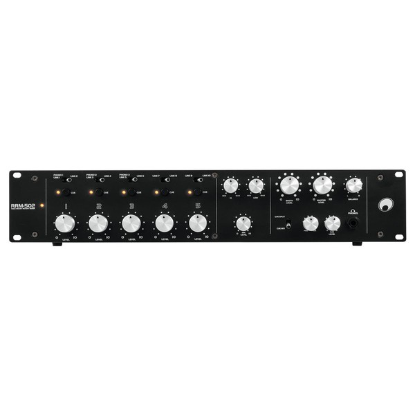 OMNITRONIC RRM-502 5-Channel Rotary Mixer