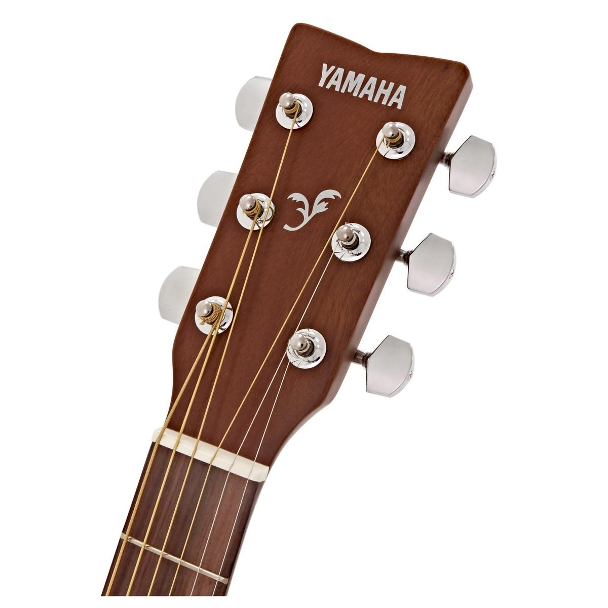 Yamaha f310 acoustic guitar natural at for Yamaha guitar brands