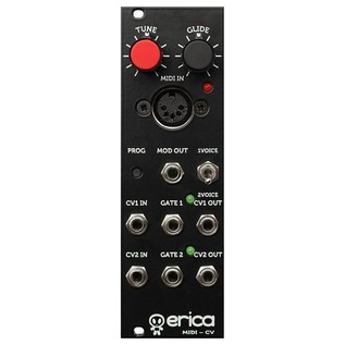 Erica Synths Duophonic Midi-CV Interface - Front