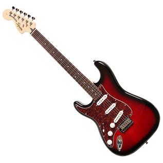 Squier by Fender Standard Stratocaster Left Handed, Antique Burst