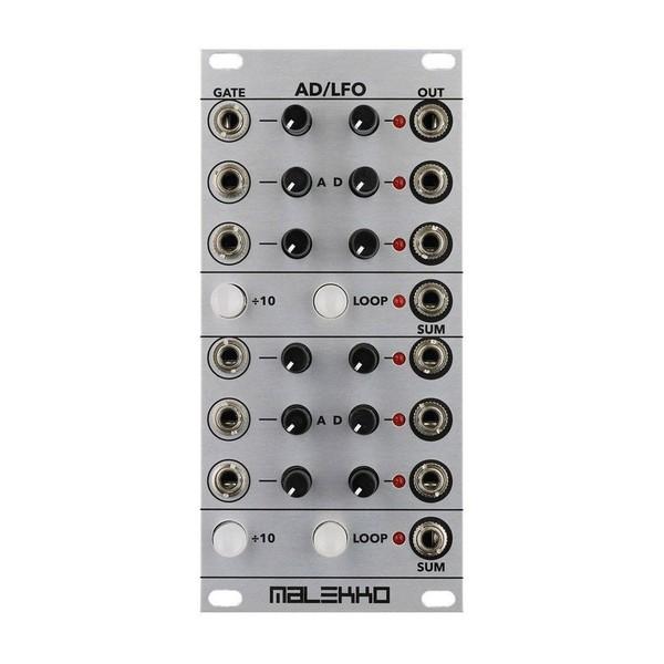 Malekko AD/LFO 12hp 6-Channel Envelope & LFO Generator Module - Front