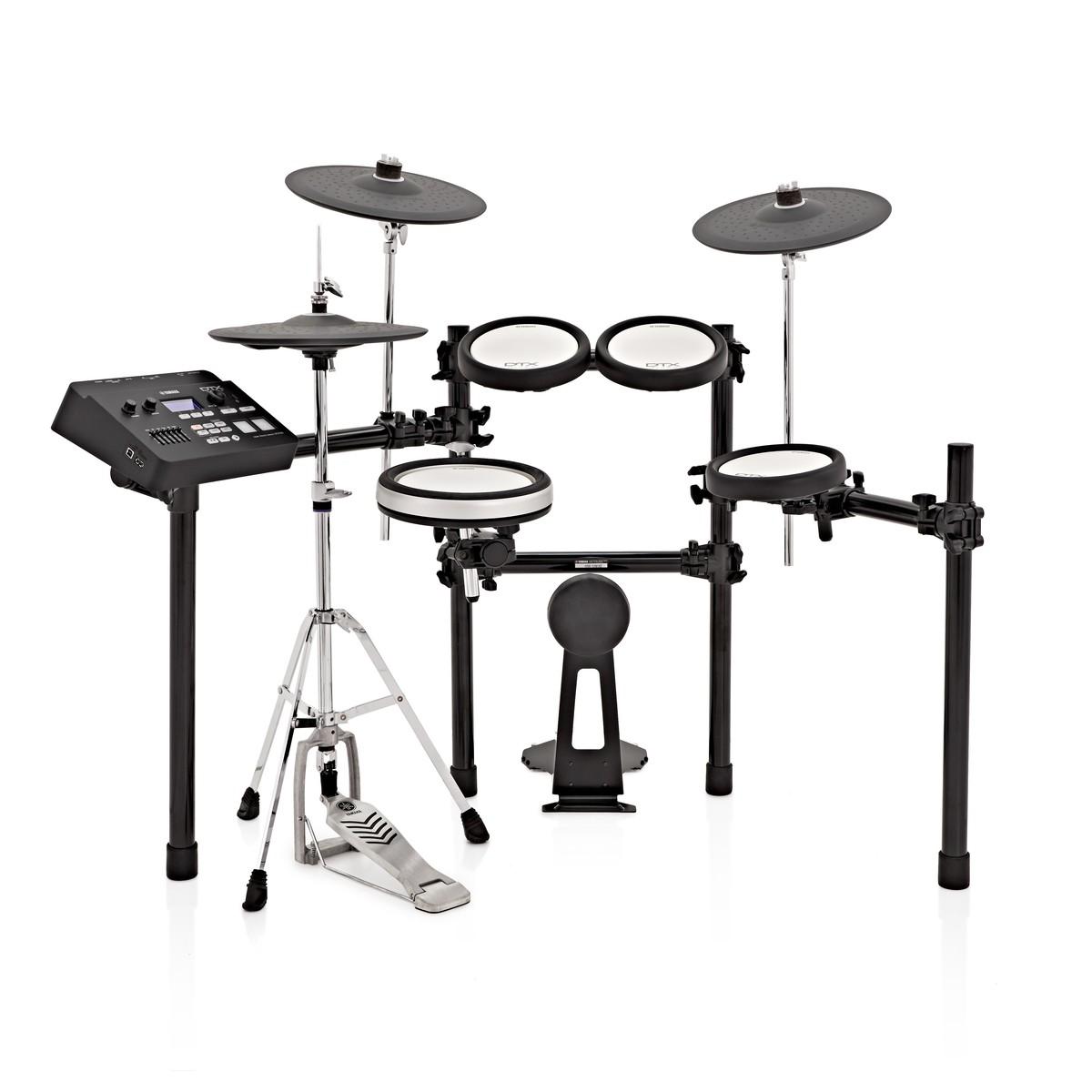 Yamaha dtx700k electronic drum kit at for Yamaha portable drums